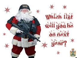 police christmas cards christmas lights decoration