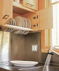over the sink dish drying rack smart kitchen space saver dish drying closet above the sink