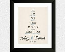 what to get husband for 1 year anniversary anniversary gift for husband boyfriend custom one 1st