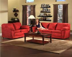 red sofa decor living room modern red sofa in small living room design red couch