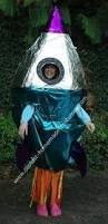 Halloween Alien Costume Alien Flying Saucer Costume Outerspace Costume