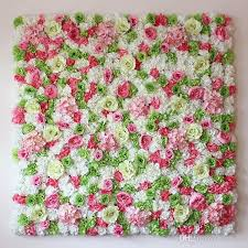 flower backdrop 2018 wedding flower backdrop flower wall for stage decoration