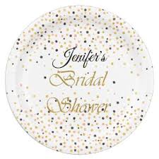 bridal shower plate bridal shower plate bridal showers winter weddings and weddings