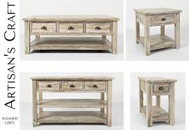 grey washed end tables 17433 in by jofran in orange ca artisan s craft end table