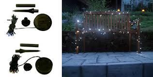 Solar Powered Christmas Tree Lights by Solar Powered Christmas Lights Home Depot Home Designing Ideas