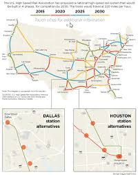 Dart Map Dallas by Where Should Dallas U0027 High Speed Rail Station Be Transportation