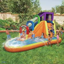 Backyard Amusement Park Backyard Water Toys Elegant The Banzai Backyard Adventure Water Park
