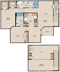 Industrial Loft Floor Plans Loft Apartment Floor Plans
