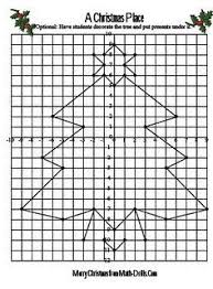 here u0027s a christmas themed coordinate graphing mystery picture
