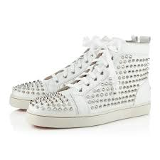 christian louboutin louis flat spikes fashion is in the detail