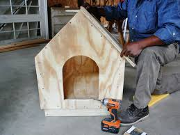 how to build a simple gabled roof doghouse how tos diy
