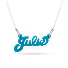 acrylic name necklace acrylic name necklace s addiction