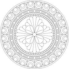 complex mandala coloring pages printable coloring pages ideas