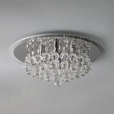 Crystal Flush Mount Ceiling Light Fixture by Lighting Design Ideas Flush Mount Crystal Ceiling Lights Fan