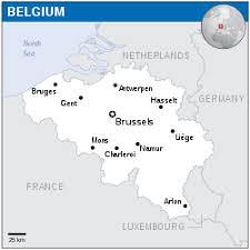 map belguim belgium