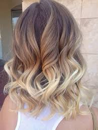 medium length hair with ombre highlights hair color trends 2017 2018 highlights soft wavy brunette to