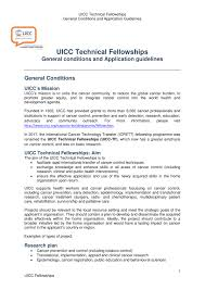 uicc technical fellowships uicc tf uicc