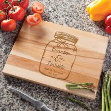 Personalized Kitchen Gifts by Personalized Mason Jar Cutting Board Walmart Com