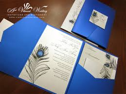 Thailand Wedding Invitation Card Platinum Wedding Decorations Royal Blue U0026 Platinum Wedding