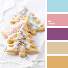 Warm Blue Color Beige Blue Color Palettes Bright Purple Cookie Color Light