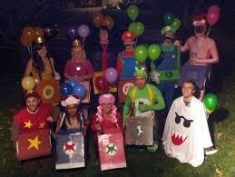 Super Mario Halloween Costume Mario Kart Costumes Super Fun Halloween Costume Idea Crafty