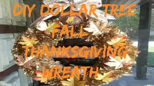 halloween decorations dollar store diy dollar tree fall thanksgiving wreath youtube