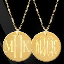 Monogram Jewlery Monogram Jewelry U2013 Jewelry