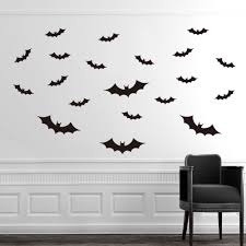 aliexpress com buy diy halloween party black 3d decorative bats aliexpress com buy diy halloween party black 3d decorative bats wall sticker christmas gifts batman wall stickers xmas wall decal home decorations from