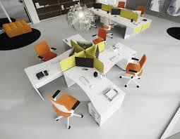 Modern Office Workstations Shared Office Workstations Dv805 Della Valentina Office