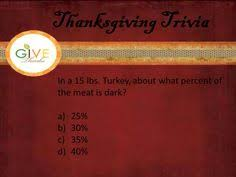 5 more days until thanksgiving here is our next trivia question