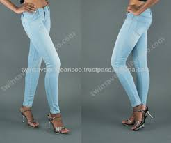 light blue skinny jeans womens new arrival rosie jeans ladies fashion low rise skinny jeans light