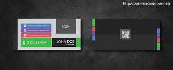 mini business cards free free mini business card template with flat style business cards