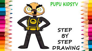 how to draw bat owl vanossgaming coloring pages art colors