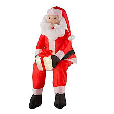stuffable lighted santa claus outdoor decor