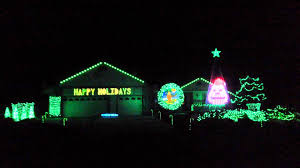 grinch christmas lights 2014 mr grinch christmas light show