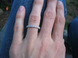 2mm wedding band show me your 2mm wedding bands pricescope forum