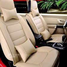 Brown Car Interior Universal Car Seats Covers Easy To Clean Noble Car Interior