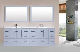 wade logan parsons 96 double bathroom vanity set with mirror at 96