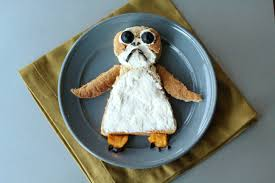 star wars inspired food art porgwich the healthy mouse