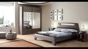 tendance deco chambre decoration chambre coucher noir et blanc idee deco peinture rustique