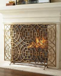 fireplace screens and tools home fireplaces firepits best