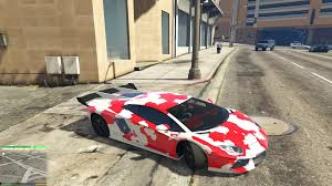 camo lamborghini aventador lamborghini aventador red camouflage gta5 mods com