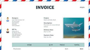 Invoice Template For Designers by Michele S Gallery Freelance Invoice Template