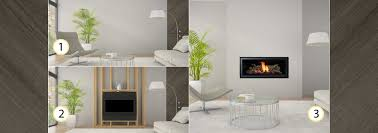 contemporary gas fireplace binhminh decoration
