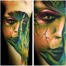 mother nature tattoo by carl grace tattoos pinterest