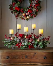classy beauteous christmas centerpiece idea with candles with