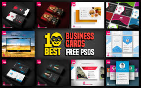 10 best business cards free psd psddaddy com