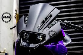 ds design ktm rc 200 violet edition by dhana stickers best bike wraps