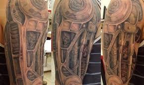 10 badass biomechanical tattoos tattoo com