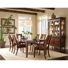 Dining Room Table 6 Chairs klaussner carturra 7 piece dining set hayneedle